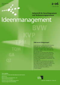 Dokument Ideenmanagement Ausgabe 02 2006