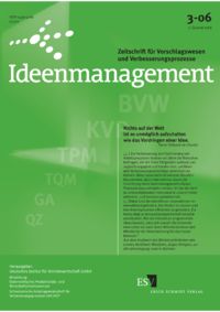 Dokument Ideenmanagement Ausgabe 03 2006