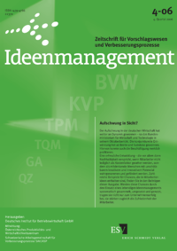Dokument Ideenmanagement Ausgabe 04 2006