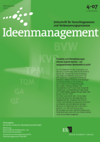 Dokument Ideenmanagement Ausgabe 04 2007