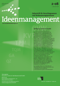 Dokument Ideenmanagement Ausgabe 02 2008
