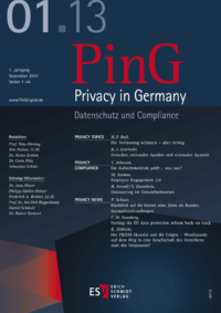 Dokument PinG Privacy in Germany Ausgabe 01 2013