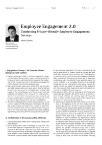 Dokument Employee Engagement 2.0