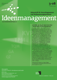 Dokument Ideenmanagement Ausgabe 03 2008