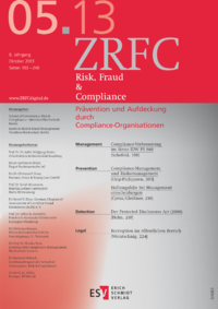 Dokument Risk, Fraud & Compliance Ausgabe 05 2013