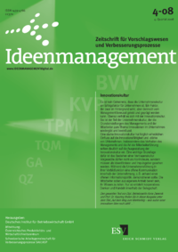 Dokument Ideenmanagement Ausgabe 04 2008