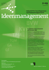 Dokument Ideenmanagement Ausgabe 02 2009