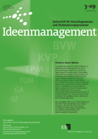Dokument Ideenmanagement Ausgabe 03 2009