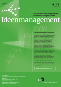 Dokument Ideenmanagement Ausgabe 04 2009