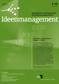 Dokument Ideenmanagement Ausgabe 01 2010