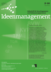 Dokument Ideenmanagement Ausgabe 02 2010