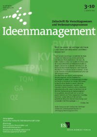 Dokument Ideenmanagement Ausgabe 03 2010