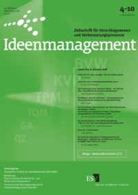 Dokument Ideenmanagement Ausgabe 04 2010