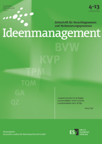 Dokument Ideenmanagement Ausgabe 04 2013