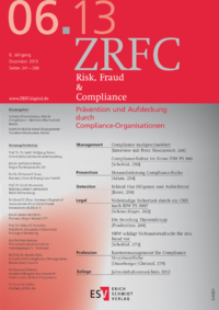 Dokument Risk, Fraud & Compliance Ausgabe 06 2013