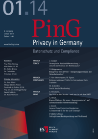 Dokument PinG Privacy in Germany Ausgabe 01 2014