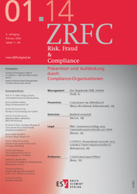 Dokument Risk, Fraud & Compliance Ausgabe 01 2014