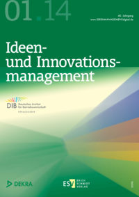 Dokument Ideenmanagement Ausgabe 01 2014
