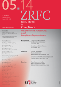 Dokument Risk, Fraud & Compliance Ausgabe 05 2014