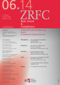 Dokument Risk, Fraud & Compliance Ausgabe 06 2014