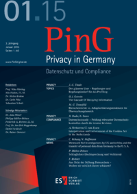 Dokument PinG Privacy in Germany Ausgabe 01 2015