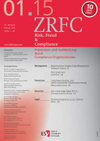 Dokument Risk, Fraud & Compliance Ausgabe 01 2015