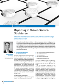 Dokument Reporting in Shared-Service-Strukturen