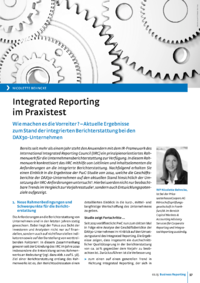 Dokument Integrated Reporting im Praxistest