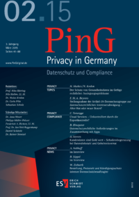 Dokument PinG Privacy in Germany Ausgabe 02 2015