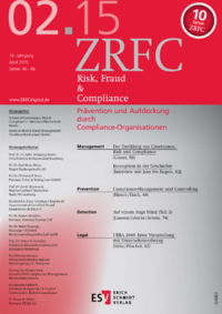 Dokument Risk, Fraud & Compliance Ausgabe 02 2015