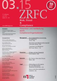 Dokument Risk, Fraud & Compliance Ausgabe 03 2015