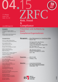 Dokument Risk, Fraud & Compliance Ausgabe 04 2015