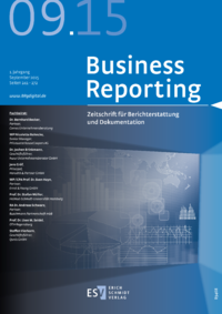 Dokument Business Reporting Ausgabe 09 2015