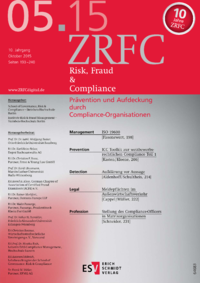 Dokument Risk, Fraud & Compliance Ausgabe 05 2015