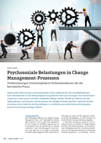 Dokument Psychosoziale Belastungen in Change Management-Prozessen