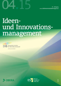 Dokument Ideenmanagement Ausgabe 04 2015