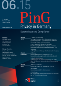 Dokument PinG Privacy in Germany Ausgabe 06 2015