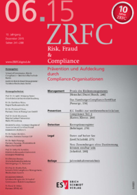 Dokument Risk, Fraud & Compliance Ausgabe 06 2015