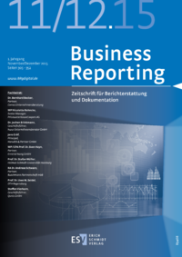 Dokument Business Reporting Ausgabe 11+12 2015