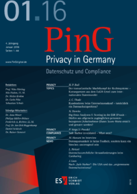 Dokument PinG Privacy in Germany Ausgabe 01 2016