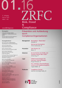 Dokument Risk, Fraud & Compliance Ausgabe 01 2016