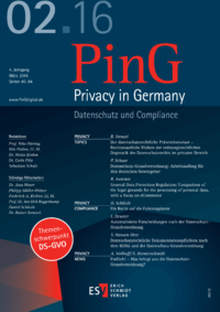 Dokument PinG Privacy in Germany Ausgabe 02 2016