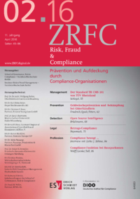 Dokument Risk, Fraud & Compliance Ausgabe 02 2016