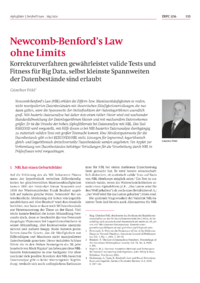 Dokument Newcomb-Benford's Law ohne Limits