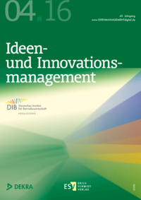 Dokument Ideenmanagement Ausgabe 04 2016