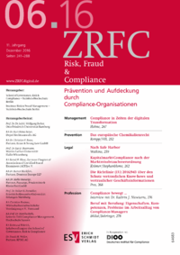 Dokument Risk, Fraud & Compliance Ausgabe 06 2016