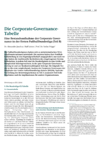 Dokument Die Corporate-Governance-Tabelle (Teil B)