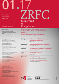 Dokument Risk, Fraud & Compliance Ausgabe 01 2017