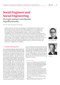 Dokument Social Engineer und Social Engineering