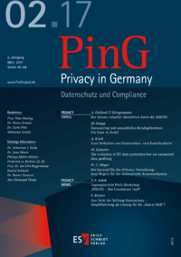Dokument PinG Privacy in Germany Ausgabe 02 2017
